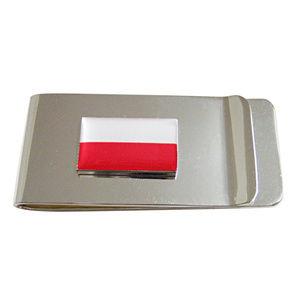 Kiola Designs Accessories - Poland Flag Pendant Money Clip